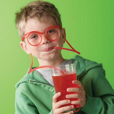 Funny and Amazing Drinking Glasses Straw