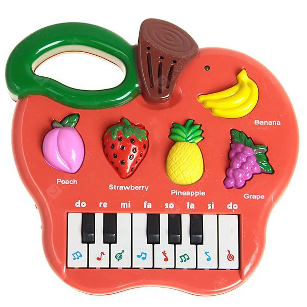 Multifunctional Fruit Electric Instrument of New Design and High Quality - Red