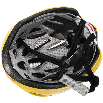 qqsports-t-2754-lightweight-cycling-protective-helmet-outdoor-sports-headgear-with-adjustable-buckle-yellow