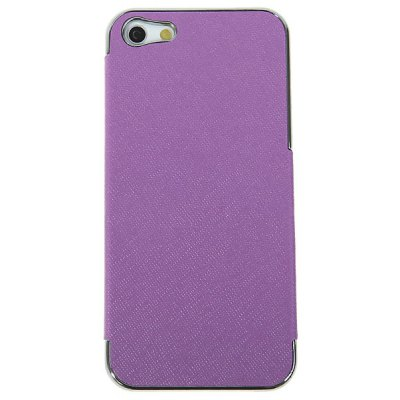 Protective Hard Cover Case for iPhone 5 - Purple