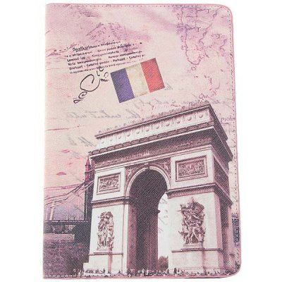 Restore Ancient Triumphal Arch Pattern Leather Case Smart Cover