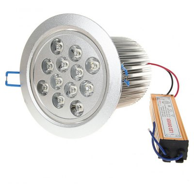 36W AC85 - 260V 2200lm 6000K White Ceiling Lamp
