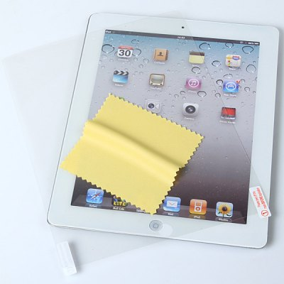 LCD Screen Anti-glare Protector Guard for The New iPad / iPad 2iPad Cases/Covers<br>LCD Screen Anti-glare Protector Guard for The New iPad / iPad 2<br>