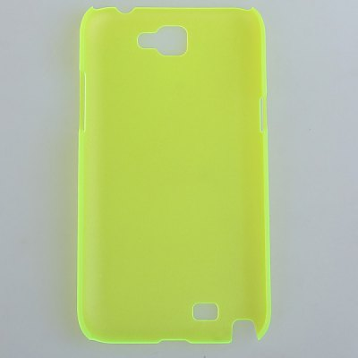 Plastic Cover Case with Slim and Matte Design for Samsung Galaxy Note 2 N7100