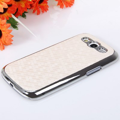 Football Pattern Plastic Material Cover Case for Samsung Galaxy S3 i9300