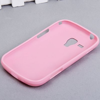 Cool Style Dots Glossy TPU Shell Case for Samsung Galaxy S Duos S7562
