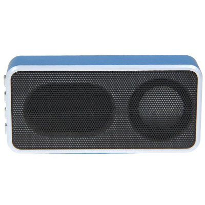 MD - 09 Music Angel Mini Portable Speaker Audio Player Support TF Card/ FM Radio