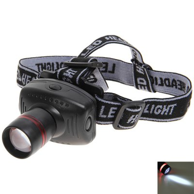 8208 High Power Zoom Headlamp (Black and Gray)