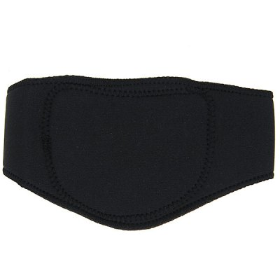 Far-infared and Magnetic Therapy Function Self-heating Neck Pad Belt for Shoulder - Black