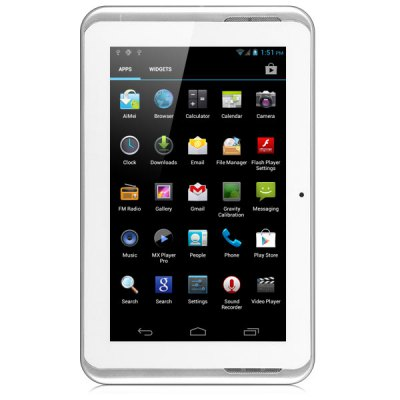 Ampe A78 Android 4.0 Phablet with GSM Single SIM 7 inch WSVGA Screen Bluetooth 4GB ROM