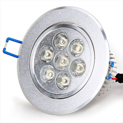 7W AC 85-240V White Light LED Ceiling Light