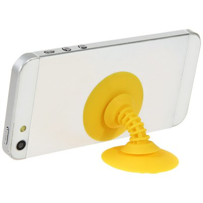 Clever Suction Cup Silicone Stand Holder and Earphones Cord Winder
