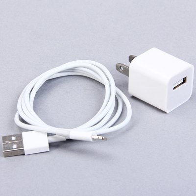 Cool Design US USB Power Charger + 8 Pin Cable