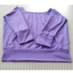 Korean Style Ladies XL Size Sports Suit Loose Clothes and Pants for Dancing and Yoga - Purple and Black for sale