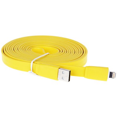 ФОТО Special Design US Power Charger + 3M Noodle Style Flat USB Cable for iPhone 5