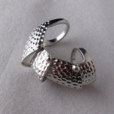 Fashion Style Solid Color Long Ring For Women