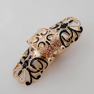 Retro Style Fashion Long Design Metal Knuckle Ring For WomenRings<br>Retro Style Fashion Long Design Metal Knuckle Ring For Women<br><br>Gender: For Women<br>Metal Type: Lead-tin Alloy<br>Style: Trendy<br>Shape/Pattern: Others<br>Diameter: 1.7CM<br>Weight: 0.035kg<br>Package Contents: 1 x Ring