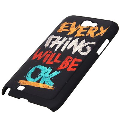 Cool Style Relievo Series River PC Shell Case for Samsung Galaxy Note 2 N7100