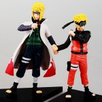 2PCS Cute Anime Style Naruto Figure Doll Toy Set Collection