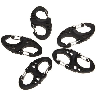 S Shape Eight-character Shape Plastic Buckle Carabiner