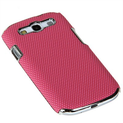 Гаджет   Luxury Football Vein Design Plastic Hard Electroplating Case Cover for Samsung Galaxy S3 i9300 Samsung Cases/Covers