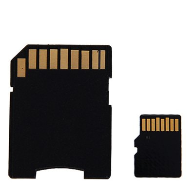 Kingmax 8GB Class 4 Micro SDHC/ SD Memory Card With Card Adapter