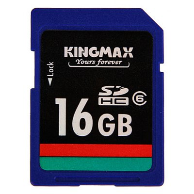 Kingmax 16GB SD/SDHC Memory Card High - speed Class6