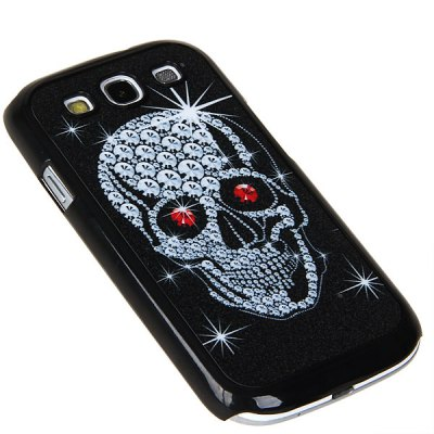 Skull Matte Pattern Plastic Material Case for Samsung Galaxy S3 i9300