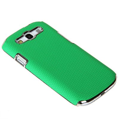 Luxury Football Vein Design Plastic Hard Electroplating Case Cover for Samsung Galaxy S3 i9300