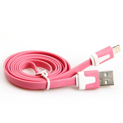 Cool Noodle Style 1M  8 Pin Data Sync Charging Cable for iPhone 5