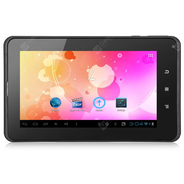 Android 4.0 M740D2 3G Phablet 7 inch WVGA Screen 1GHz 8GB ROM WiFi Dual Cameras