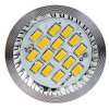 cheap MR16 8W 5630 SMD LED 10 - 18V Warm White Par Lamp with Cover