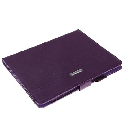 Гаджет   Cool Rectangle Style PU Leather Case for iPad 2 / 3 / 4 with 360 Degrees Rotary Stand iPad Cases/Covers