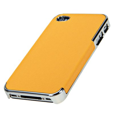 Fashion Style PU Leather + Plastic Shell Case for iPhone 4iPhone Cases/Covers<br>Fashion Style PU Leather + Plastic Shell Case for iPhone 4<br><br>For: Mobile phone<br>Compatible for Apple: iPhone 4/4S<br>Features: Back Cover<br>Material: Plastic, PU Leather<br>Style: Special Design<br>Product weight : 15 g<br>Product size (L x W x H): 11.8 x 6.3 x 1.3 cm<br>Package contents: 1 x Case