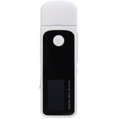 Portable 2GB USB Flash Memory MP3 Player with TF Card Slot