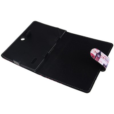 Big Ben Pattern 7 Inch PU Stand Rotating Leather Case for 7 Inch Tablet PCTablet Accessories<br>Big Ben Pattern 7 Inch PU Stand Rotating Leather Case for 7 Inch Tablet PC<br>