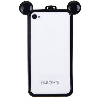 Гаджет   Cool Frog Prince Style Plastic Bumper Frame for iPhone 4 / 4S