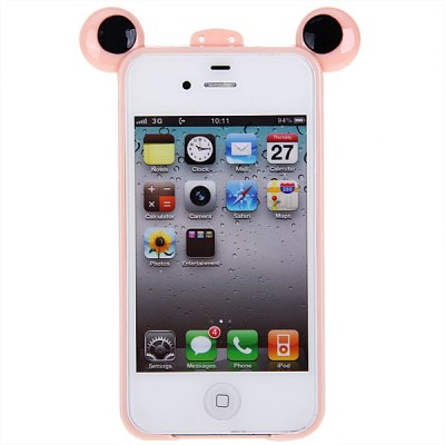Frog Prince Protective Cover Case Frame for iPhone 4 / 4S