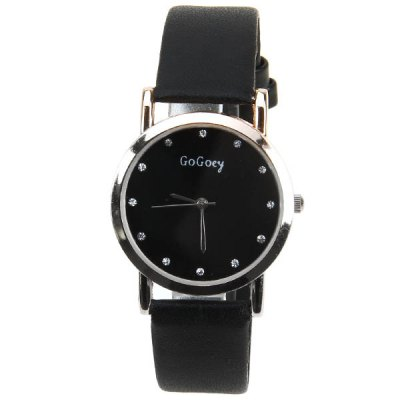 Cheap Watch with Diamonds Round Dial and Leather Band Design for CoupleWatches &amp; Jewelry<br>Cheap Watch with Diamonds Round Dial and Leather Band Design for Couple<br><br>Watches categories: Couple tables<br>Watch style: Fashion<br>Style elements: Diamond<br>Available Color: Black<br>Shape of the dial: Round<br>Movement type: Quartz watch<br>Display type: Pointer<br>Case material: Stainless steel<br>Band material: Leather<br>Clasp type: Pin buckle<br>Special features: Three needle<br>The male dial dimension (L x W x H): 4.1 x 3.5 x 0.7 cm<br>The male watch band dimension (L x W): 24 x 1.6 cm<br>The male watch weight: 0.024 kg<br>The male watch size (L x W x H): 24 x 3.5 x 0.7 cm<br>The female dial dimension (L x W x H): 3.2 x 2.6 x 0.7 cm<br>The female watch band dimension (L x W): 21 x 1 cm<br>The female watch weight: 0.014 kg<br>The female size (L x W x H): 21 x 2.6 x 0.7 cm<br>Package contents: 2 x Watch