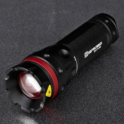 Sipik SK15 Cree XP - E R3 3 - Mode 150lm White Light Flashlight with Battery and Charger