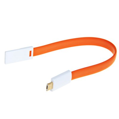 Гаджет   VOJO Magnet Micro USB Data Charger Sync Flat Cable Samsung Cables & Adapters