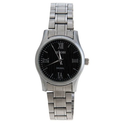 Sinobi Luxury Watches with Round Dial and Steel Band for CoupleWatches &amp; Jewelry<br>Sinobi Luxury Watches with Round Dial and Steel Band for Couple<br><br>Brand: Sinobi<br>Watches categories: Couple tables<br>Watch style: Fashion<br>Style elements: Stainless steel<br>Available Color: Black<br>Shape of the dial: Round<br>Movement type: Quartz watch<br>Display type: Pointer<br>Case material: Stainless steel<br>Band material: Steel<br>Clasp type: Buckle<br>Special features: Three needle<br>Package weight: 0.126 kg<br>Package size (L x W x H): 23.6 x 5 x 4.4 cm<br>The male dial dimension (L x W x H): 4.4 x 4 x 0.7 cm<br>The male watch band dimension (L x W): 22.6 x 1.8 cm<br>The male watch weight: 0.078 kg<br>The male watch size (L x W x H): 22.6 x 4 x 1.7 cm<br>The female dial dimension (L x W x H): 3.2 x 2.9 x 0.7 cm<br>The female watch band dimension (L x W): 22.6 x 1.3 cm<br>The female watch weight: 0.048 kg<br>The female size (L x W x H): 22.6 x 2.9 x 1.7 cm<br>Package contents: 2 x Watch