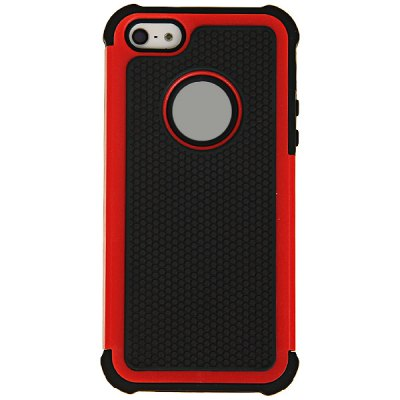 Cool Football Texture Style Detachable Plastic + Silicone Hybrid Case for iPhone 5