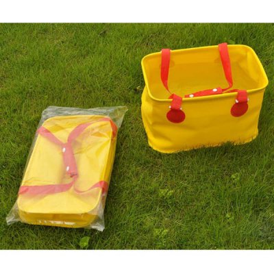 Fantastic High Quality Naturehike Collapsible Folding Bucket - Yellow