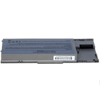 High Capacity 5200mAh 11.1V Replacement Laptop Battery for Dell Latitude D620, D630, D630c, D631, KD489, KD491, KD492, KD494, KD495 - Gray от GearBest.com INT