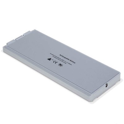 A1185 High Capacity 5200mAh 11.1V Replacement Laptop Battery for Apple MacBook 13 Inch A1181,1185, MacBook 13 Inch MA472 - White