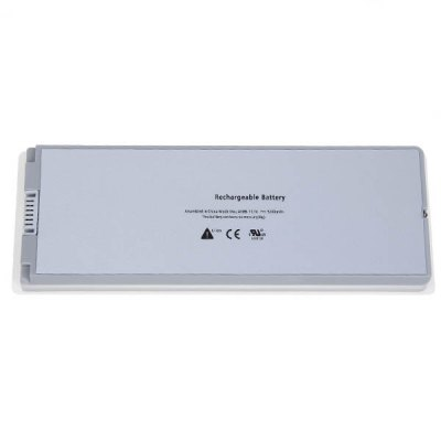 A1185 High Capacity 5200mAh 11.1V Replacement Laptop Battery for Apple MacBook 13 Inch A1181,1185, MacBook 13 Inch MA472 - White от GearBest.com INT