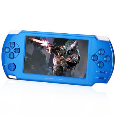 4.3 inch 4GB MP5 Game Player High Resolution LCD Touch Screen with 2.0 MP Camera