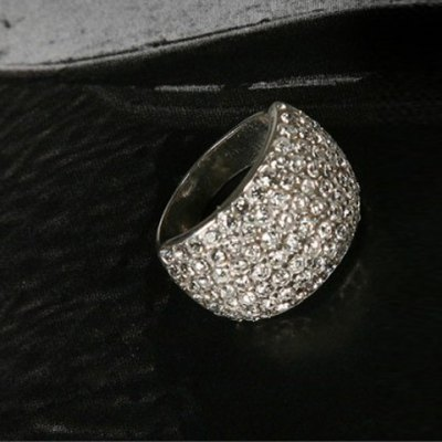 Fashion Rhinestone Decorated Women's Ring