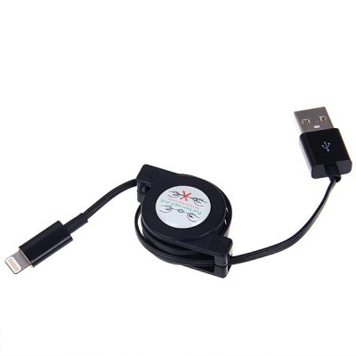 Cool Style  8 Pin Retractable Data Sync / Charging USB Cable for iPhone 5